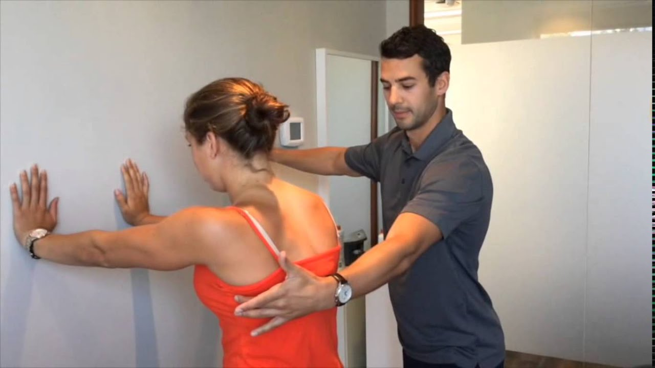 Shoulder Pain - Shoulder Blade Push ups for Scapular ...