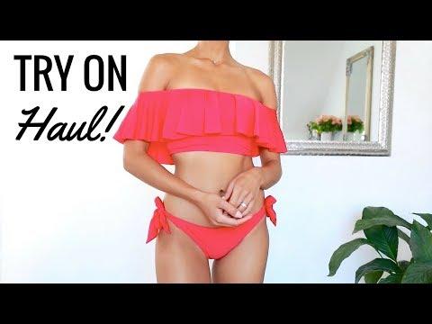 SPRING / SUMMER TRY ON HAUL  (Zara, Asos, Lulu's) | Annie Jaffrey