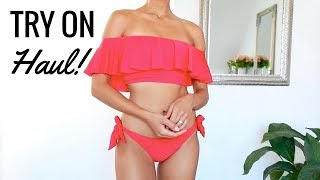 SPRING / SUMMER TRY ON HAUL  (Zara, Asos, Lulu's) | Annie Jaffrey