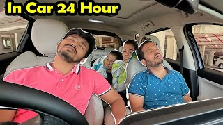 Living Inside A Car For 24 Hours Challenge | Hungry Birds