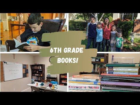 6th Grade Homeschool Curriculum (2020-21)