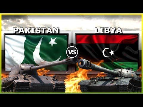 Pakistan vs Libya Military Power Comparison 2019