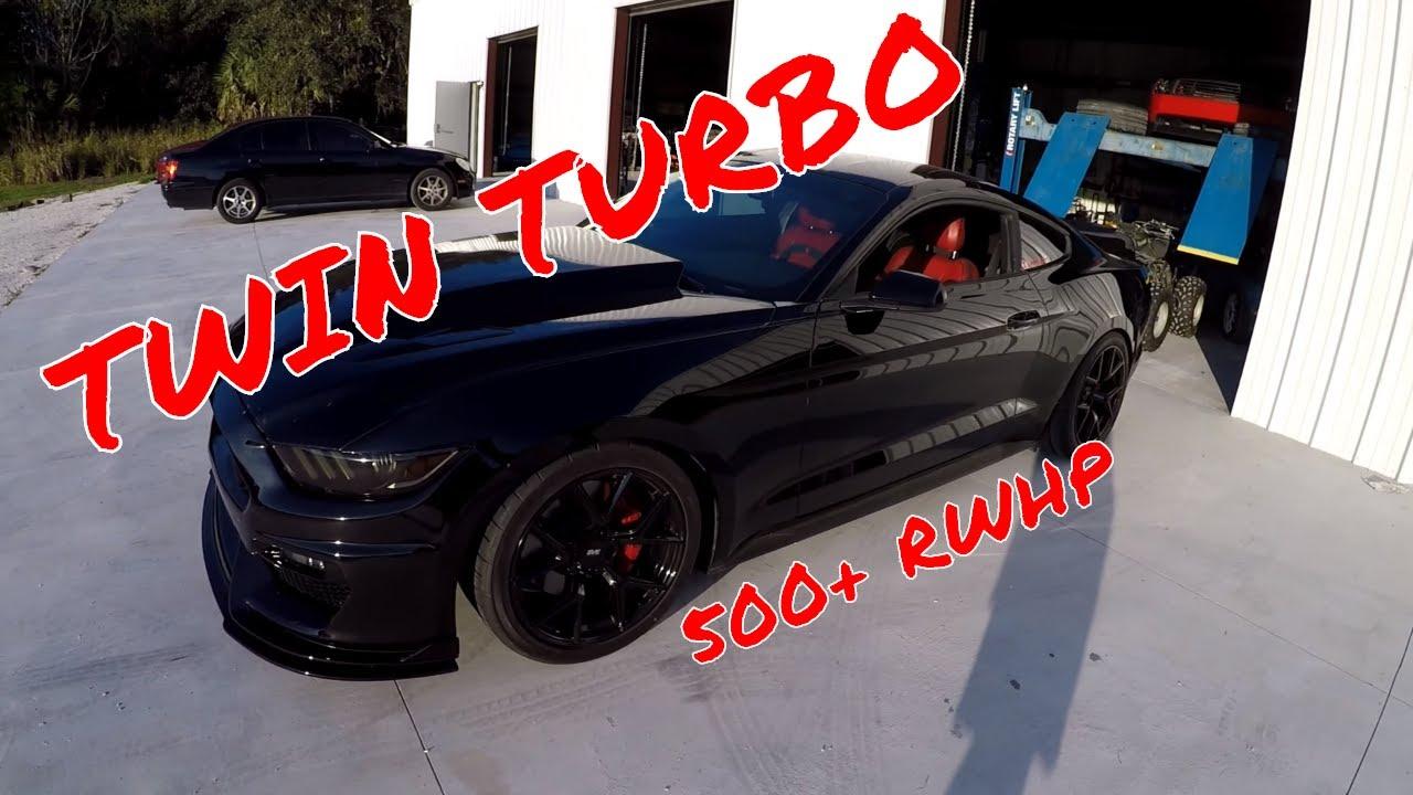 Twin Turbo 3 7l V6 S550 Ford Mustang Getting A Mafia Dyno Tune