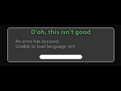 How to fix Rotmg Unable to load language error
