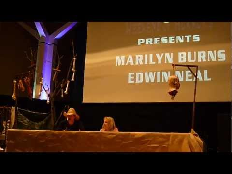 Q&A with Edwin Neal & Marilyn Burns @ 8. Weekend of horrors