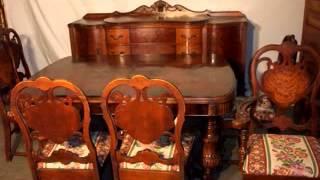 Antique Dining Room Furniture Design Ideas