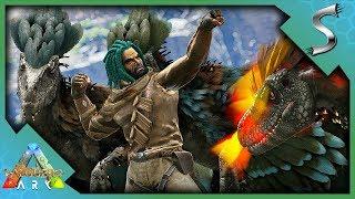 STEALING DEINONYCHUS EGGS TO REFORM THE DEINONYCHUS PACK! - Ark: Valguero [DLC Gameplay E12]