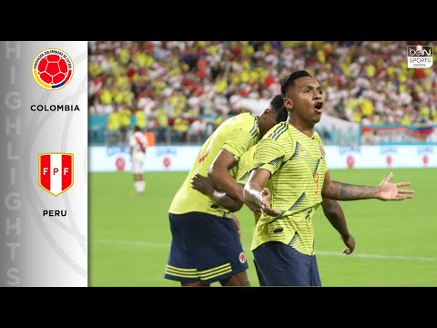 Colombia 1-0 Peru - HIGHLIGHTS & GOALS - 11/15/19