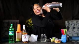 Bourbon Peach-Lemonade Recipe:The Happy Hour with Heather B.