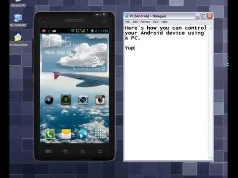 Mirror and Control your Android device on PC (Mobizen App ...