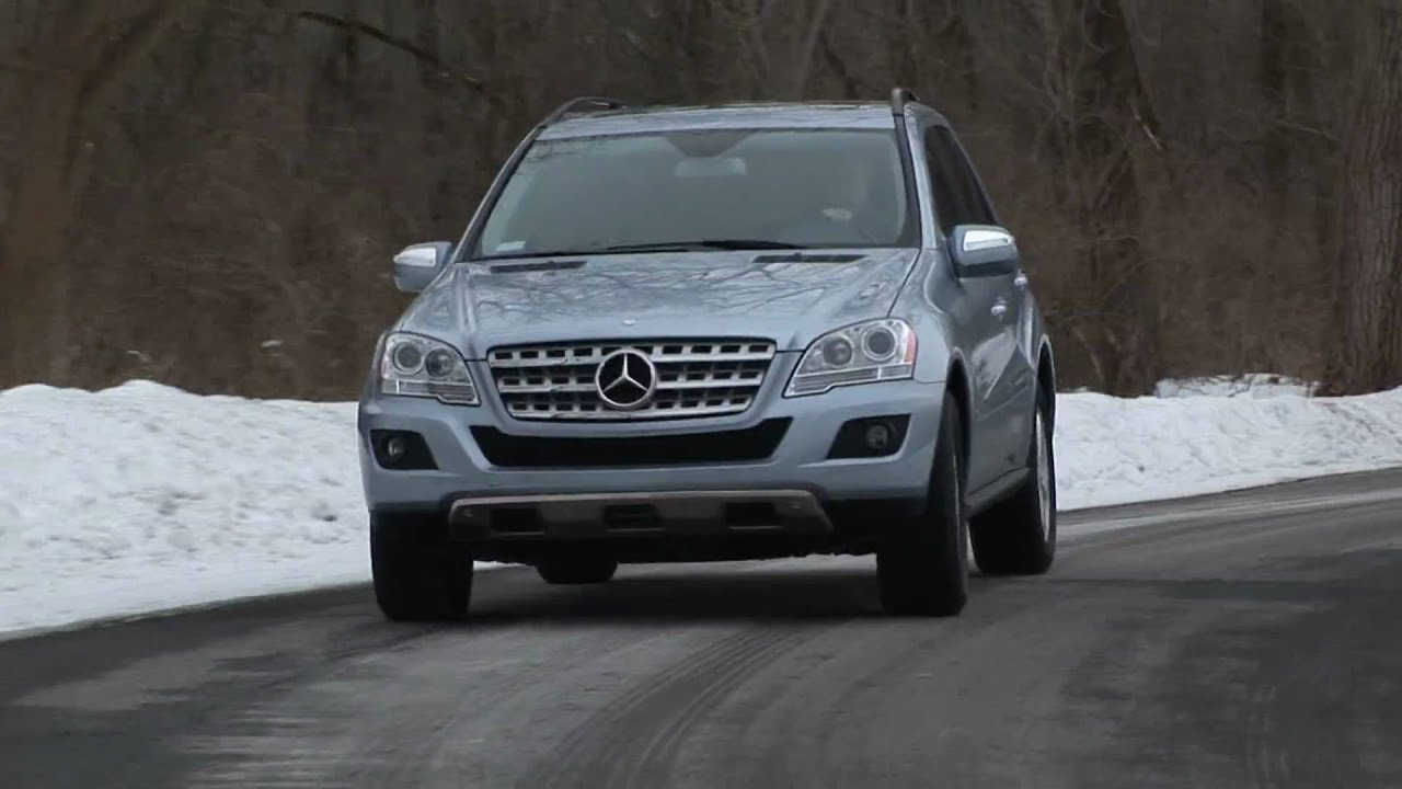 2009 Mercedes Benz Ml350 4matic Youtube