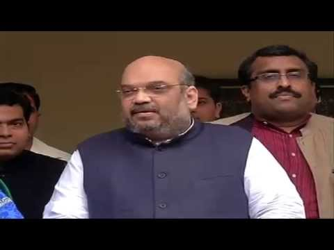 Jammu & Kashmir will soon get a popular govt. of BJP-PDP alliance: Shri Amit Shah: 24.02.2015