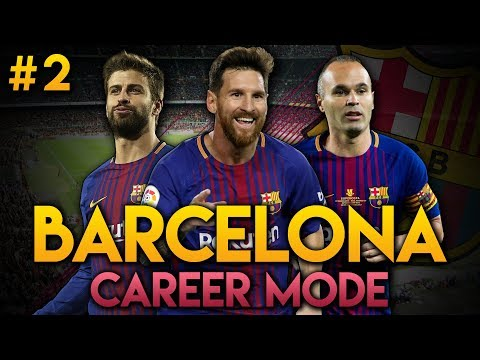 FIFA 18 | Barcelona Career Mode | Ep2 | WHAT A FINISH!!