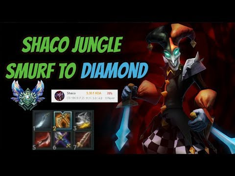 Shaco Jungle Ranked [Smurfing to Diamond] League of Legends - Infernal Shaco thumbnail