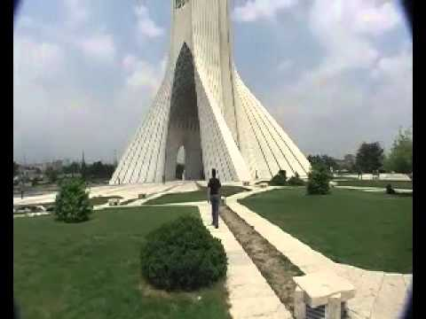 iran, theran AZADI Square.mp4