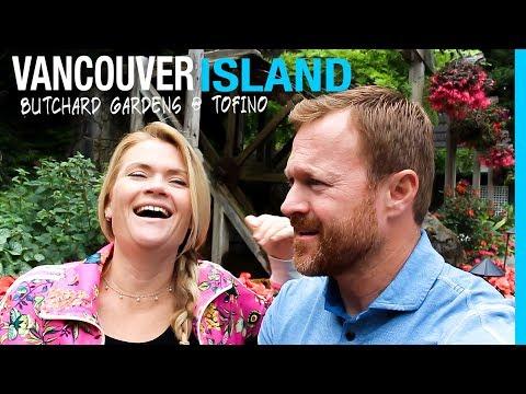 RVING VANCOUVER ISLAND | BUTCHART GARDENS & TOFINO BC