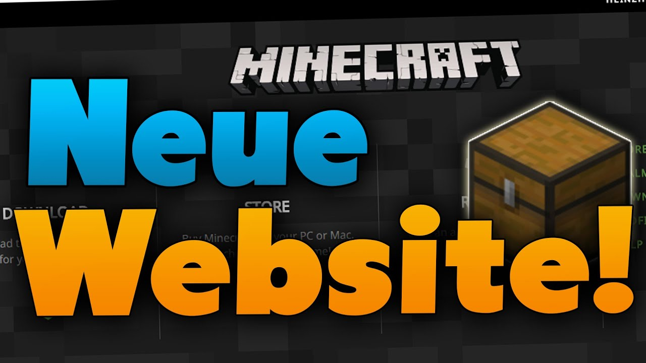 NEUE Minecraft-Website & 1.9 Crafting-Rezept – Minecraft News