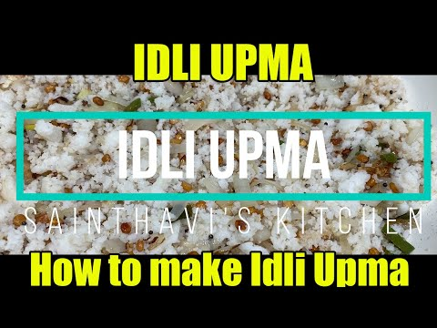 how-to-make-idli-upma- -sainthavis-kitchen
