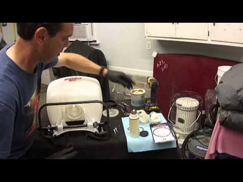 Solo Back Pack Sprayer Rebuild Kit Install (M425-101)