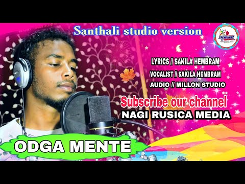 NEW SANTHALI SONG  STUDIO RECORDING AT MILLON AUDIO RRPUR