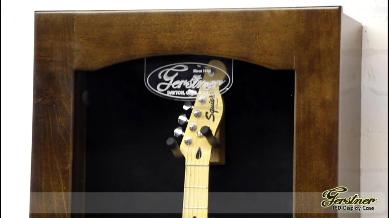 Gerstner U0026 Sons   Wall Hanging Guitar Display Case