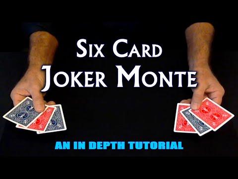 Six Card Joker Monte (Card Magic) ~ An In Depth Tutorial