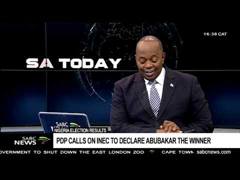 PDP declares Atiku Abubakar as winner of Nigeria's Presidential election Mp3