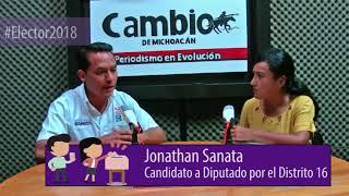 Elector2018 - Entrevista a Jonathan Sanata