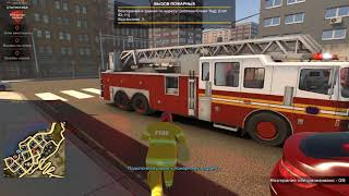 Flashing Lights - Police Fire EMS обзор игры. Ловим, тушим, лечим