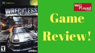 Wreckless Xbox Game Review