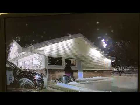 Portage Police injury and arrest video