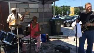 """Tell Mama"" cover by The Coalishun live @ Broad Street Market Harrisburg PA 7/11/2015"