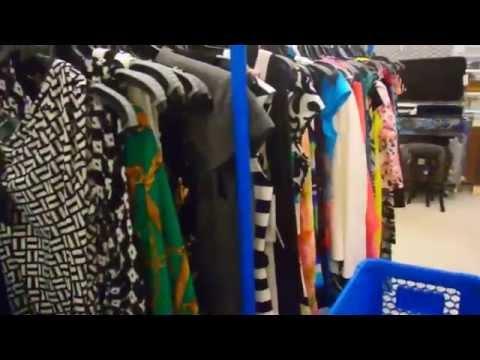 Шопинг и примерка одежды в магазине ROSS FloridaYalta 18.06.2015