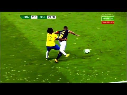 Antonio Valencia destrozando a Marcelo | Antonio Valencia destroying Marcelo