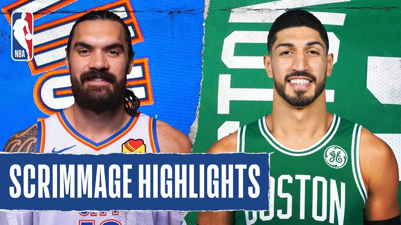 THUNDER at CELTICS | SCRIMMAGE HIGHLIGHTS | July 24 2020 – NBA
