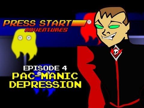 Press Start Adventures: Pac-Manic Depression