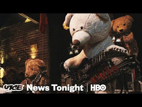 This Guy Built A Teddy Bear Robot Band Because He Hates Playing With Humans (HBO)
