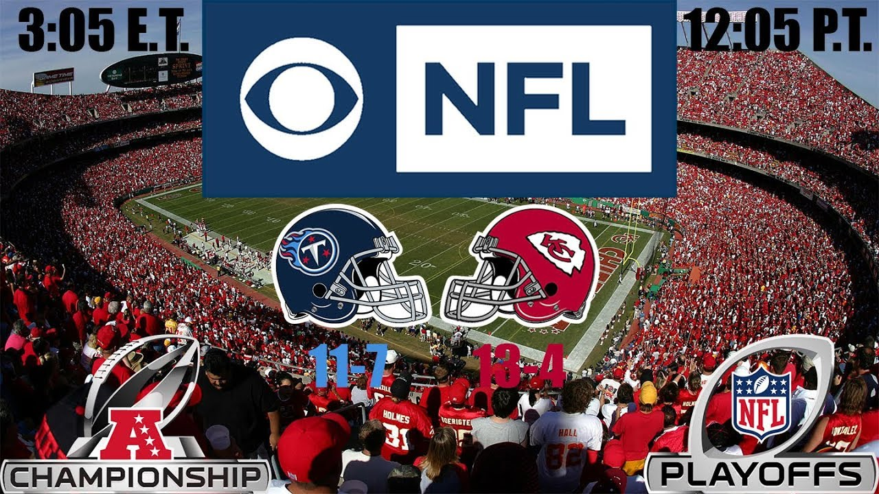 2019 NFL Playoffs - AFC Conference Championship - (Prediction): Titans at Chiefs