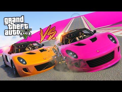 BOYFRIEND vs GIRLFRIEND!! (GTA 5 Online DLC Update Special Vehicle Races)