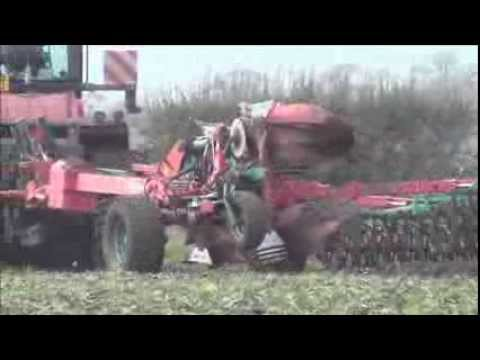 Quadtac Ploughing with10 Furrow plough.2013.wvm