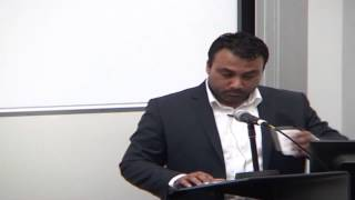 UCL Lecture: President of Ahmadiyya Muslim Youth Association responds to Innocence of Muslims Movie