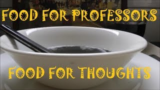 BRAIN FOOD ★ FOOD FOR PROFESSORS - Food for Thoughts