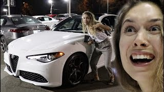 BUYING HER FIRST CAR!! (hehe nice)