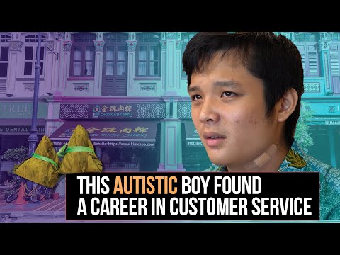 This Autistic Boy Found a Career in Customer Service