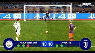 PES 2019 | Final UEFA Champions League | MANCHESTER CITY vs JUVENTUS | Penalty Shootout