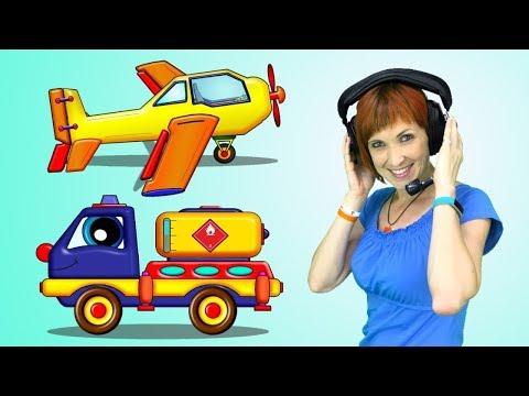 Maria Ve Billy! Maria UÇAKTA✈️! MAZOT BİTTİ! Eğitici #çizgifilm çocuk Video Türkçe Izle.