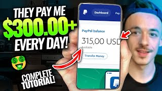 You can make as much as $300 per day by using these three websites today!Online Moneymaking for Beginners | Make Money Online For Beginners thumbnail
