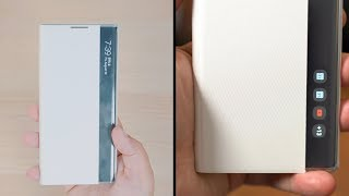 Samsung Galaxy Note10 S-View Flip Cover Case: Is It Worth $50??