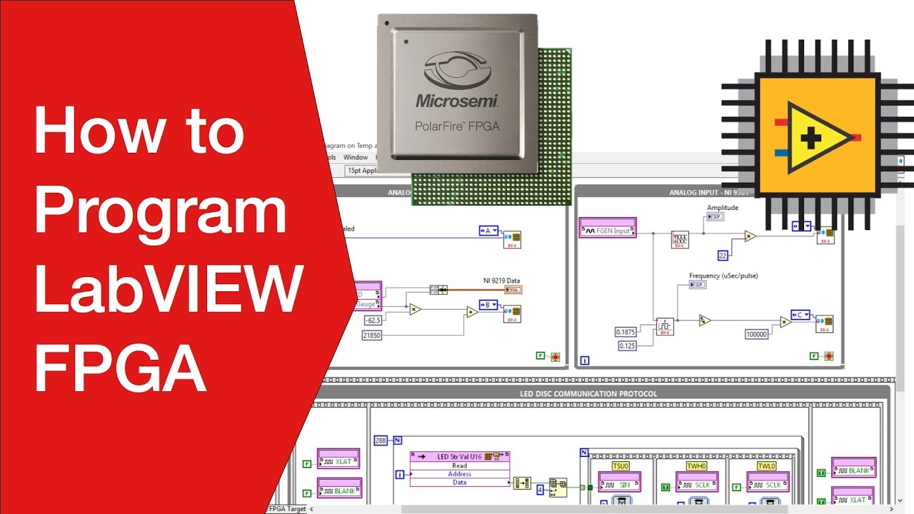 How to Program an FPGA with LabVIEW FPGA