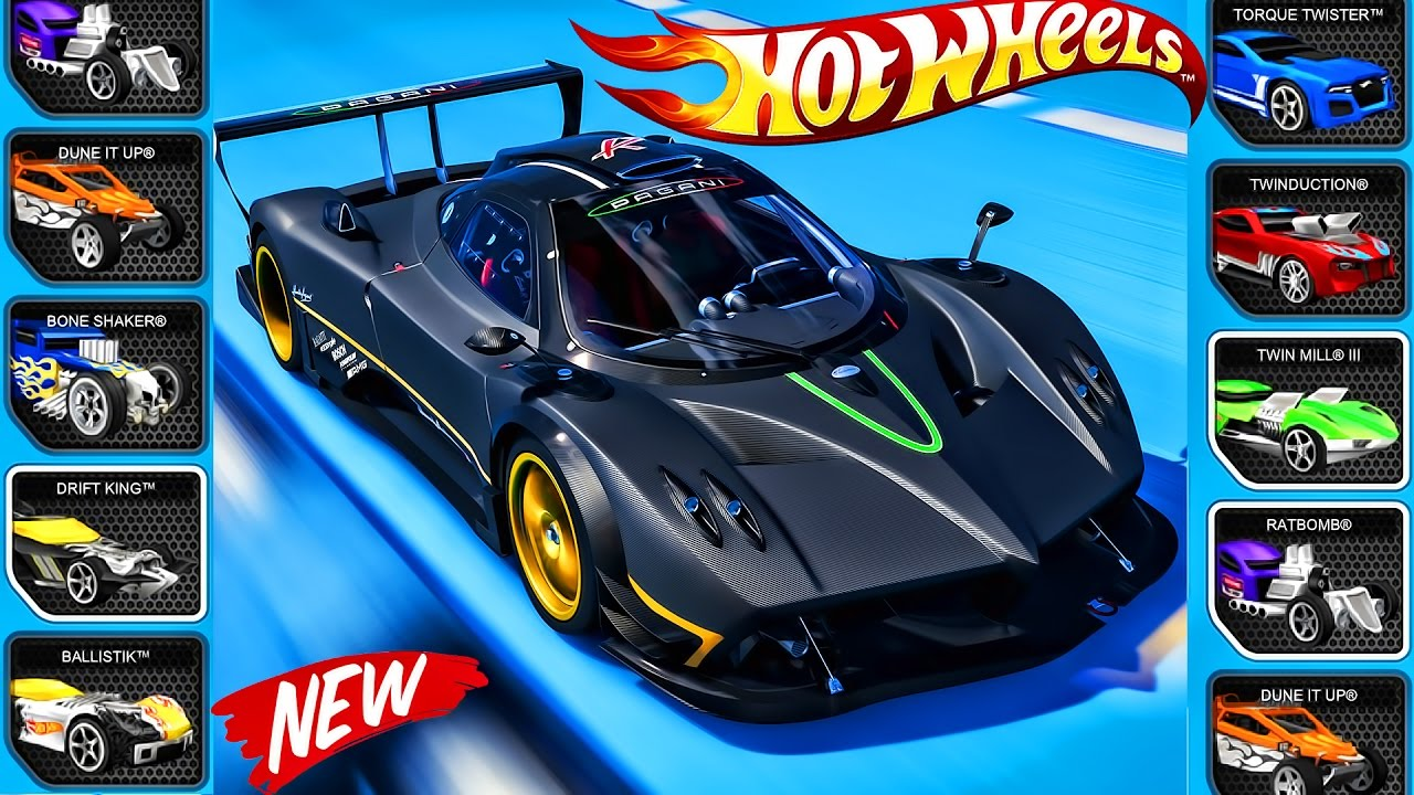This is an image of Zany Hot Wheels Pictures